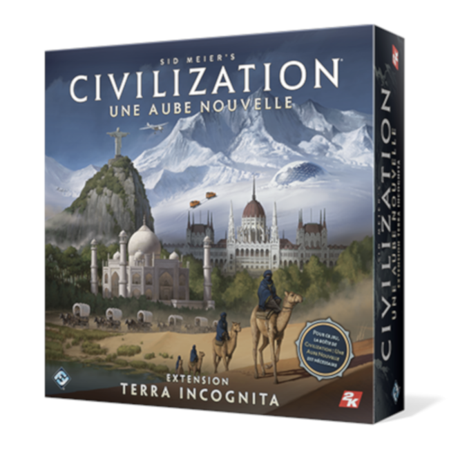 Fantasy Flight Games Civilization - Une aube nouvelle : Terra Incognita [French]
