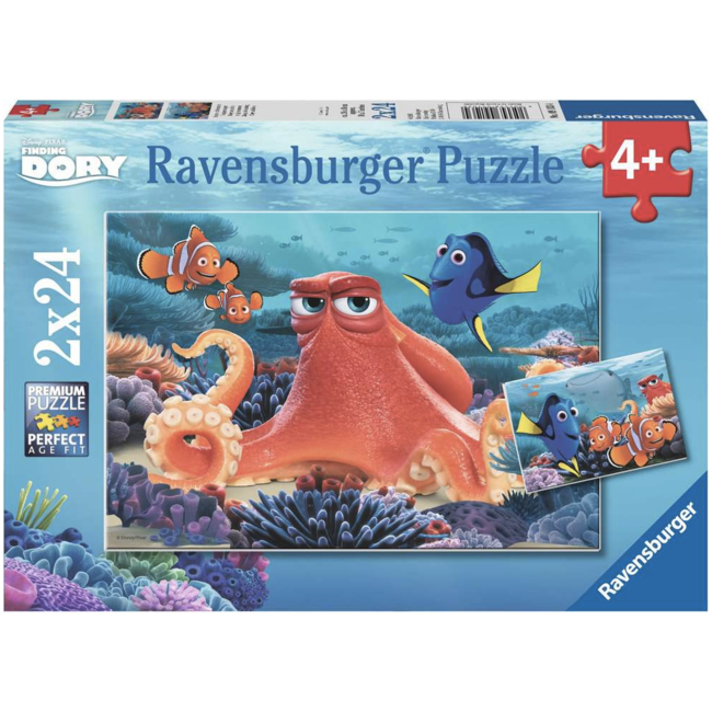 Ravensburger Finding Dory - Always Swimming (2 x 24 pièces)