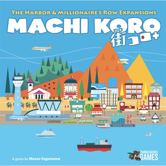Pandasaurus Games Machi Koro - 5th Anniversary Edition : Expansions [English]