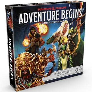 hasbro Dungeons & Dragons - Adventure Begins [anglais]