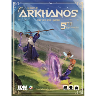 IDW Games Towers of Arkhanos (the) : Silver Lotus Order [English]