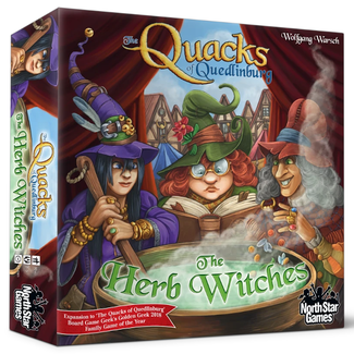 North Star Games Quacks of Quedlinburg : The Herb Witches [English]