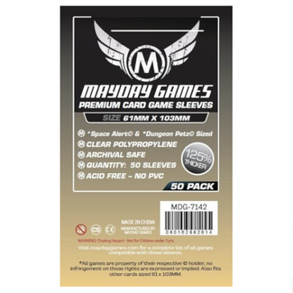 Mayday Games Card sleeves (61mm x 103mm) - 50 pack [MDG-7142]