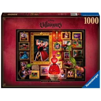 Ravensburger Disney Villainous - Queen of Heart (1000 pieces)