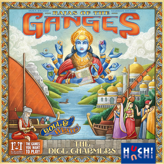 R&R Games Rajas of the Ganges - The Dice Charmers [Multi]