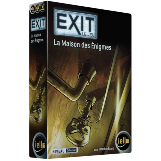 Iello Exit (13) - La maison des énigmes [French]