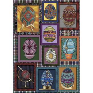 JaCaRou Puzzles Des œufs encadrés (1000 pièces)