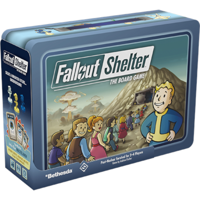 Fantasy Flight Games Fallout Shelter - The Board Game [English]
