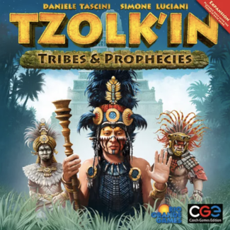 Czech Games Edition Tzolk'in : Tribes & Prophecies [English]