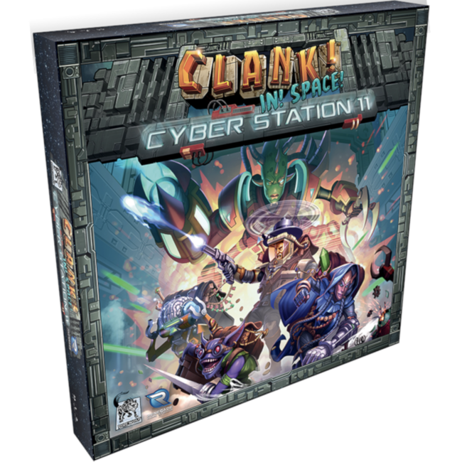Renegade Game Studios Clank ! - In ! Space ! : Cyber Station 11 [English]