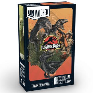 Restoration Games Unmatched Jurassic Park - InGen VS Raptors [English]