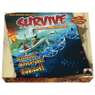 Stronghold Games Survive - Escape from Atlantis! - 30th Anniversary Edition [anglais]