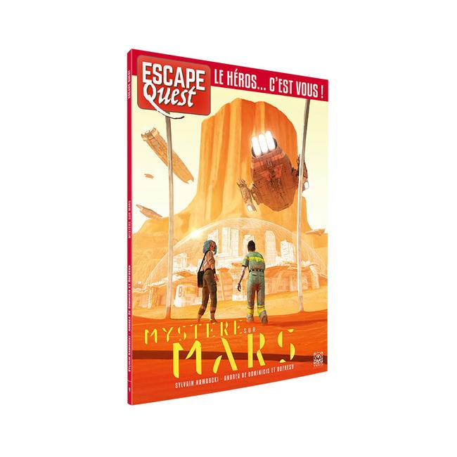 Don't Panic Games Escape Quest (9) - Mystère sur Mars [French]