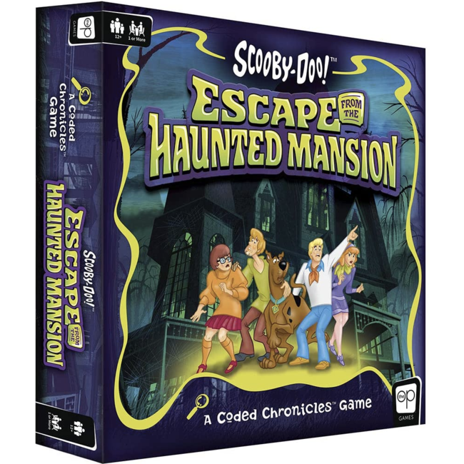 USAopoly Coded Chronicles - Scooby-Doo Escape the Haunted Mansion [English]