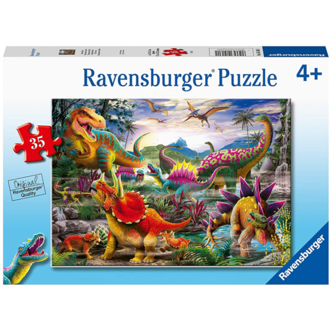 Ravensburger T-Rex Terror (35 pieces)