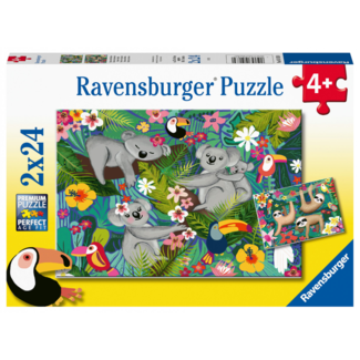 Ravensburger Koalas and Sloths (2x24 pieces)