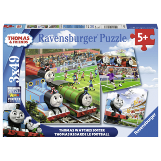 Ravensburger Thomas Watches Soccer (3x49 pieces)