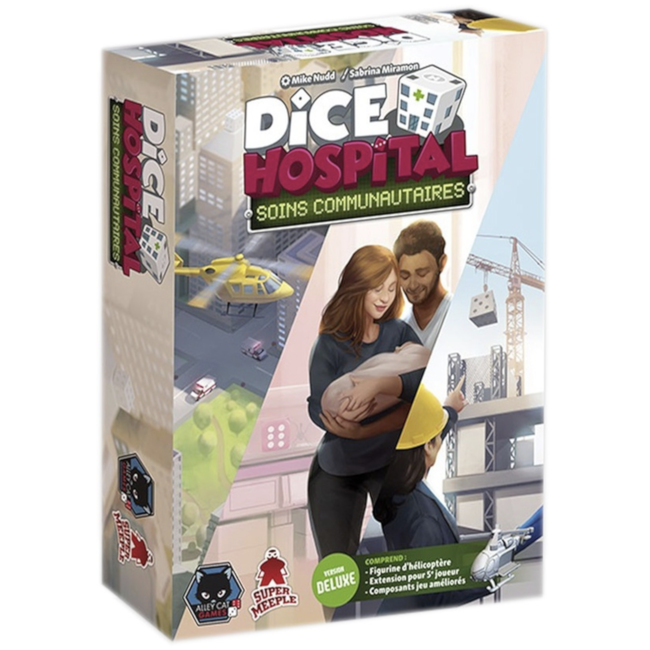 Super Meeple Dice Hospital : Soins communautaires - Deluxe [French]