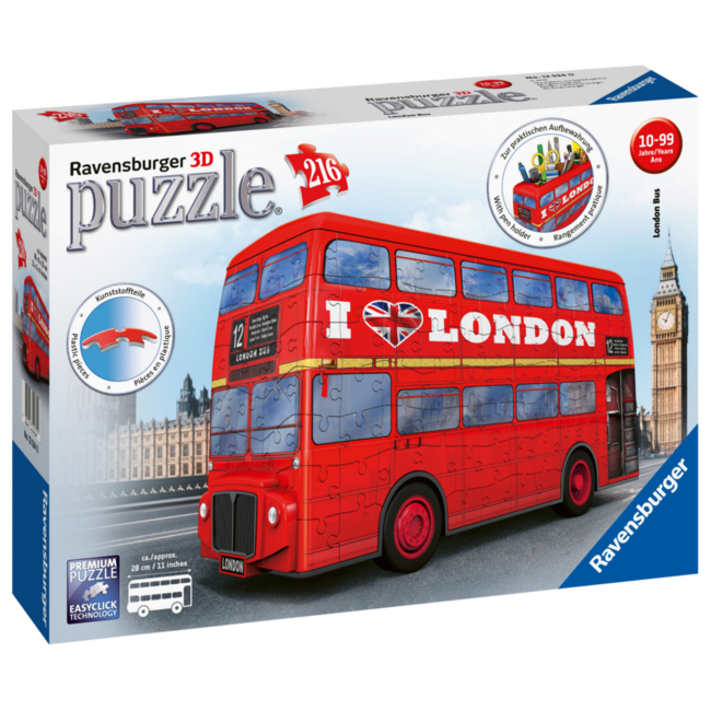 Ravensburger London Bus - 3D (216 pieces)