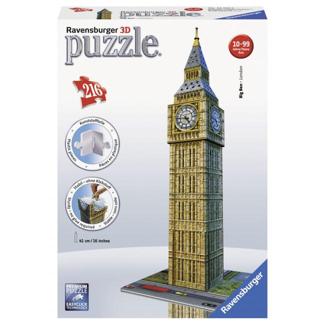 Ravensburger Big Ben - 3D (216 pieces)