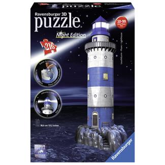 Ravensburger Lighthouse Night Edition - 3D (216 pieces)
