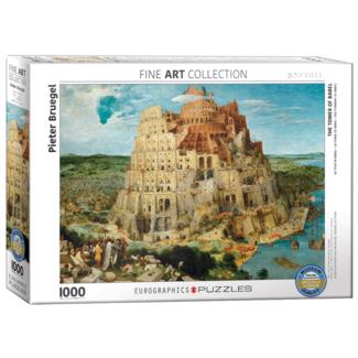 EuroGraphics Puzzle La Tour de Babel (1000 pièces)