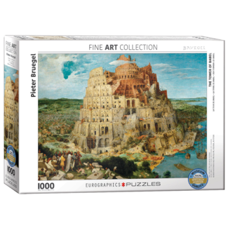 EuroGraphics Puzzle The Tower of Babel (1000 pieces)