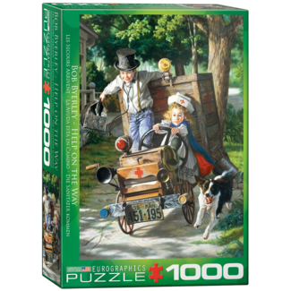 EuroGraphics Puzzle Help on the Way (1000 pieces)