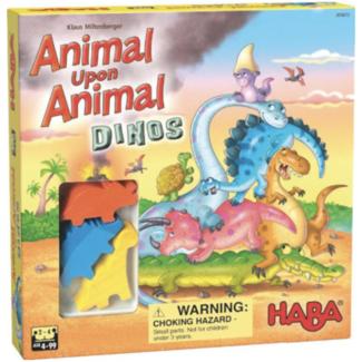 Haba Animal Upon Animal - Dinos [multilingue]
