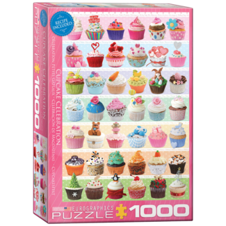 EuroGraphics Puzzle Cupcake Celebration (1000 pieces)