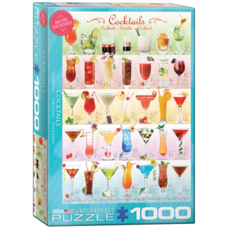EuroGraphics Puzzle Coktails (1000 pieces)