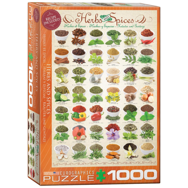 EuroGraphics Puzzle Herbs and Spices (1000 pieces)