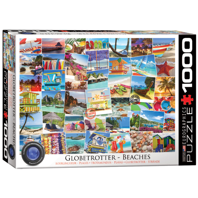 EuroGraphics Puzzle Globetrotter Beaches (1000 pieces)
