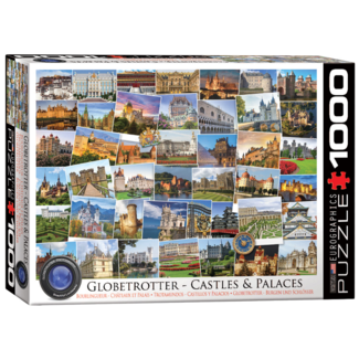 EuroGraphics Puzzle Globetrotter Castles & Palaces (1000 pieces)