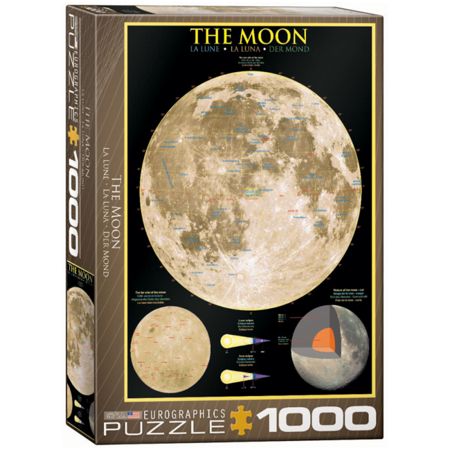 EuroGraphics Puzzle The Moon (1000 pieces)