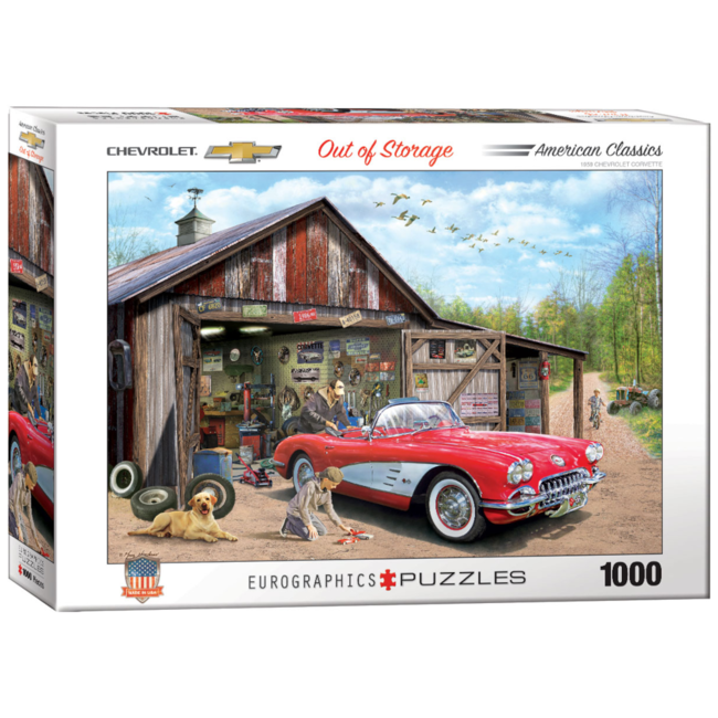 EuroGraphics Puzzle Out of Storage (1000 pieces)