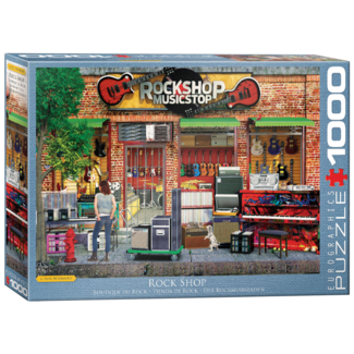 EuroGraphics Puzzle Rock Shop (1000 pieces)