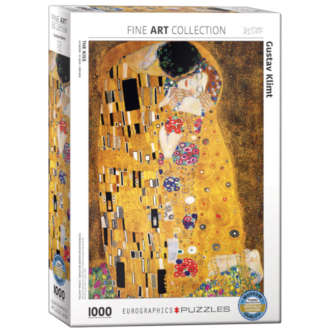EuroGraphics Puzzle The Kiss (1000 pieces)