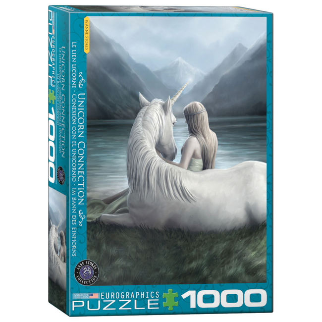 EuroGraphics Puzzle Unicorn Connection (1000 pieces)