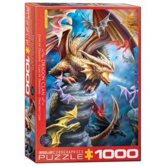 EuroGraphics Puzzle Dragon Clan (1000 pieces)