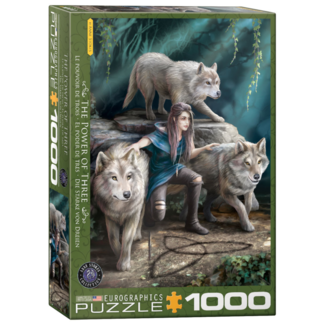 EuroGraphics Puzzle The Power of Three (1000 pieces)