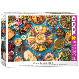 EuroGraphics Puzzle Middle-Eastern Table (1000 pieces)