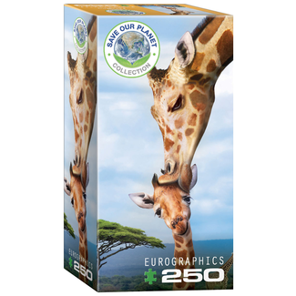 EuroGraphics Puzzle Giraffes (250 pieces)