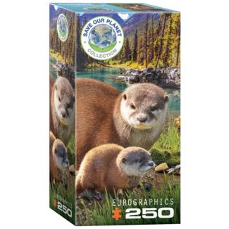 EuroGraphics Puzzle Loutres (250 pièces)