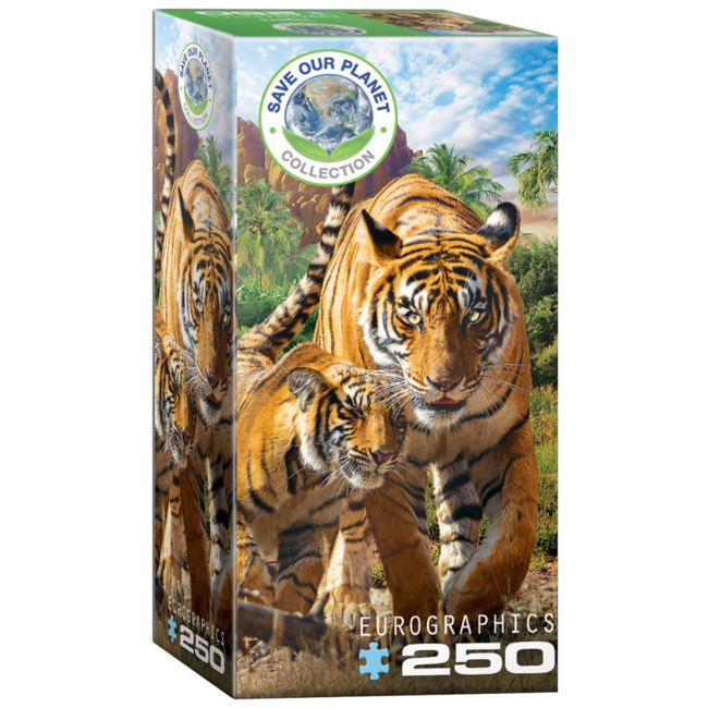 EuroGraphics Puzzle Tigers (250 pieces)