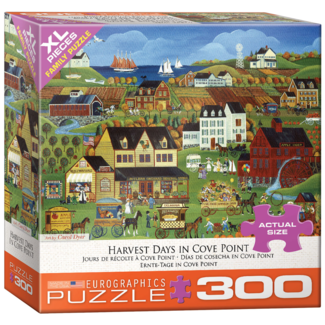 EuroGraphics Puzzle Harvest Days in Cove Point - XL (300 pieces)
