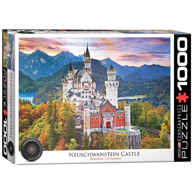 EuroGraphics Puzzle Neuschwanstein Castle Germany (1000 pieces)