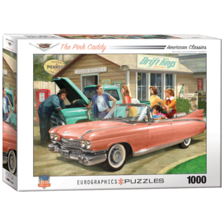 EuroGraphics Puzzle The Pink Caddy (1000 pieces)