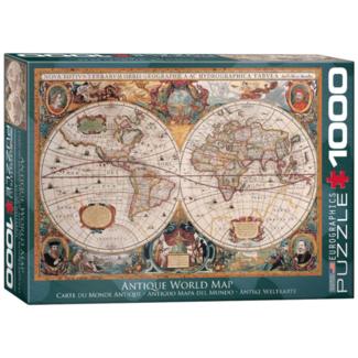 EuroGraphics Puzzle Antique World Map (1000 pieces)