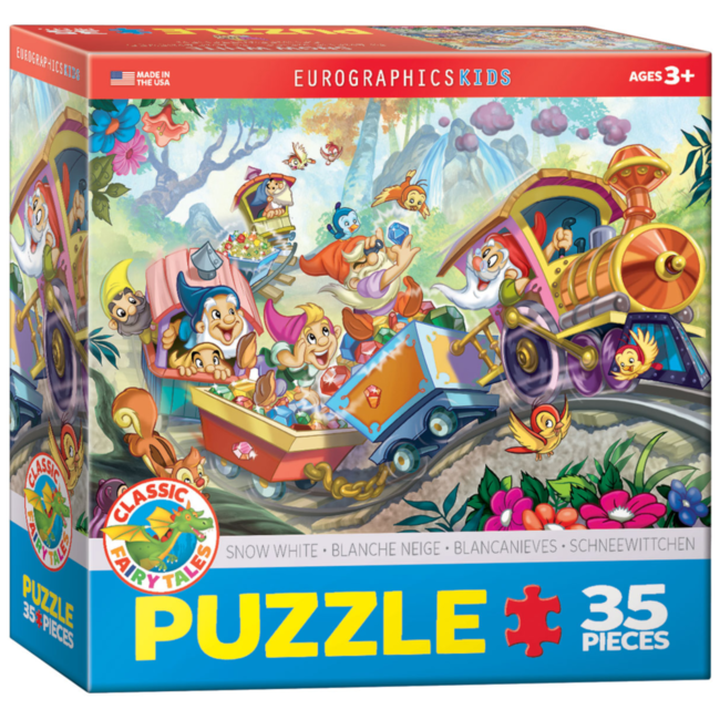 EuroGraphics Puzzle Snow White (35 pieces)